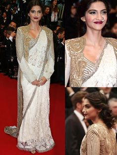 Bollywood at the Cannes 2013 Indian actress Sonam...|Wedding dresses,cakes,bouquets,themes etc