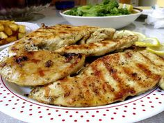 Cookbook Recipes, Cooking Recipes, Bbq, Pork, Food And Drink, Tasty, Meat, Chicken, Greek