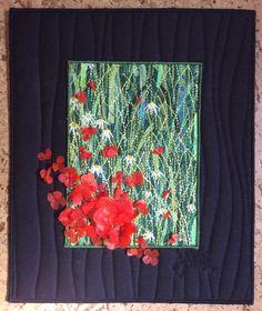 Small Poppies piece by Anne Solomon Www.annesolomon.com