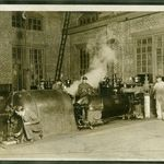 Mechanical engineering at Estabrook Hall at the University of Tennessee (ca. 1915-1925).