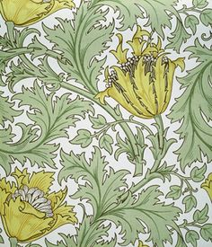 yama-bato:  William Morris Woodland Weeds WallpaperBlock print England,  19th century© V&A Images/Victoria and Albert Museum, London