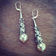 georgia earrings via @Tigerlilly Jewelry