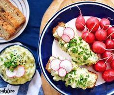 Nízkosacharidová strava | Recepty | CUKR POD KONTROLOU Lchf, Keto, Baked Potato, Sushi, Food And Drink, Low Carb, Baking, Ethnic Recipes, Fitness