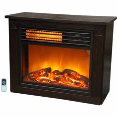 Electric Fireplaces Clearance Compact Infrared Heater Warm Home Realistic Flame DescriptionElectric Fireplaces Clearance The Lifezon