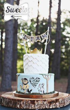 """Where The Wild Things Are"" birthday cake   NashvilleSweets.com"