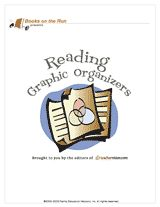 A printable book of reading graphic organizers
