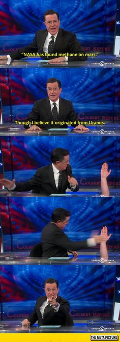 Colbert Knows How To Deal With A Good Joke