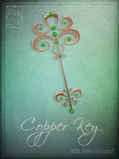 Copper Key by Rittik.deviantart.com on @DeviantArt