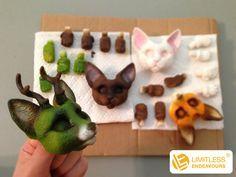 Carolines Treasures Sloth Ceramic Night Light 6 x 4 Green Paws