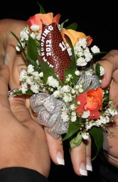 Eastrock Homecoming – Football Rose Boutonniere