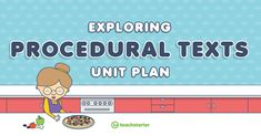 Persuasive Text, Procedural Writing, Teaching Plan, Teaching Resources, Adverbial Phrases, English Units, Writing Games, Primary School Teacher, Unit Plan