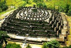 Borobudur....the biggest temple in the world....thousand years heritage