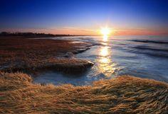 Rock Harbor, Cape Cod sunset
