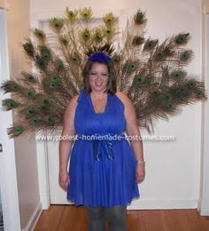 coolest peacock halloween costume - Stunning Halloween Costumes