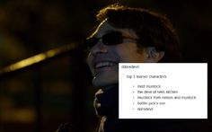 matt murodck/daredevil text post