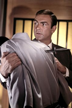 """Sean Connery as James Bond in """"You Only Live Twice"""" (1967)"""