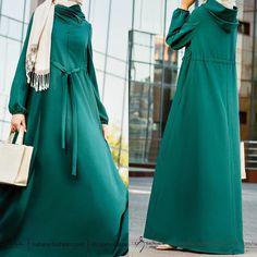 Hijab Style Dress, Kaftan Style, Hijab Chic, Abaya Fashion, Fashion Outfits, Womens Fashion, Modest Dresses, Prom Dresses, Islamic Fashion