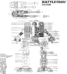 Vulture blueprint