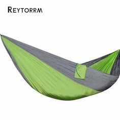 Efficient Single Double Hammock Adult Outdoor Backpacking Travel Survival Hunting Sleeping Bed Portable Hama Hammocks