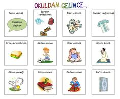 Pin by Seher Öztürk on Schule Kids Education, Special Education, Ramadan, Islam For Kids, Turkish Language, Islamic Teachings, Study Hard, Study Motivation, Preschool Activities