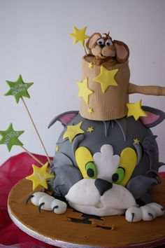 Tom and Jerry Cake-my son would love this!!!!