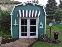 My backyard shed gets a much needed makeover...