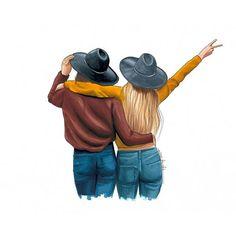 Cute Drawing of friends Friends Sketch, Drawings Of Friends, Best Friend Sketches, Cute Best Friend Drawings, Tumblr Drawings, Girly Drawings, Bff Pics, Best Friend Pictures, Bff Pictures