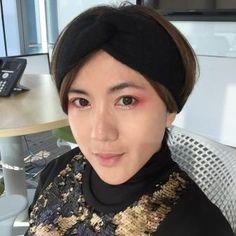 「緋紅女巫Scarlet Witch」創意妝,CC彩妝師畫給你看! @ CC makeup 專業彩妝 :: 痞客邦 PIXNET ::