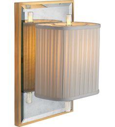 Visual Comfort Barbara Barry Sunset Plaza 1 Light Decorative Wall Light in Soft Silver BBL2016I/SS-S #visualcomfort
