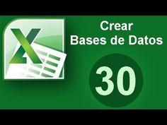 Crea Bases de Datos en Excel, de forma rápida y sencilla. Aprende a buscar en tu Base de Datos de Excel. Inserta más elementos en tu Base de Datos muy fácilm...
