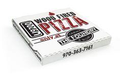 Foundry pizza box design, o2 creative