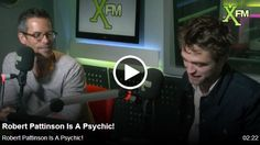 Robert Pattinson and Guy Pearce on xFM Radio - Interview + Picture