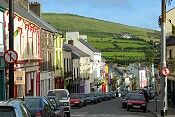 DINGLE, IRELAND rented an apartment on this street for a week. The best town for Irish music, pubs and day trips.