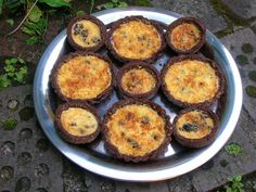 Yorkshire Curd Tarts - with a chocolate twist ;-)