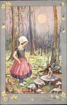 Hester Margetson, 1932   Wynken, Blynken & Nod   Pinterest