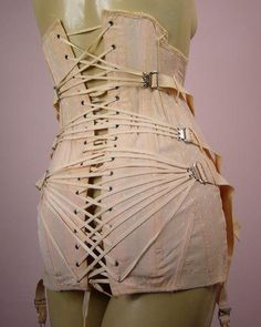 Camp Corset early 1900s.