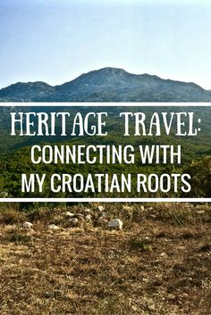 Connecting with your roots can make traveling an extra special experience. Find out what it was like for me exploring my Croatian heritage while in Croatia! https://www.littlethingstravel.com