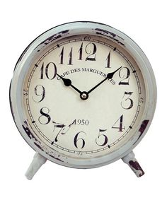 Loving this White Table Clock on #zulily! #zulilyfinds Access is restricted to members only so here is an invitation to join. Invite friends and get $15 for every referral once your friend makes their 1st purchase and shipment. No limit to referral $'s.  Link: http://www.zulily.com/invite/pmiller9177