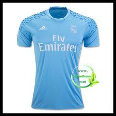 Fotballdrakter FC Real Madrid Hjemmedraktsett Keeper 2016-2017