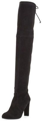 Shop Now - >  https://api.shopstyle.com/action/apiVisitRetailer?id=521108641&pid=2254&pid=uid6996-25233114-59 Stuart Weitzman Highland Suede Over-The-Knee Boot  ...