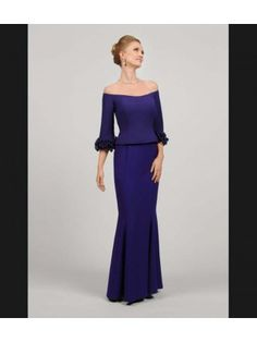 Daymor Couture 405 mother of bride evening dress.