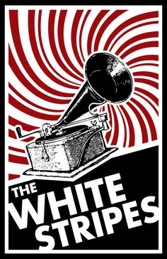 The White Stripes - The White Stripes' music is such an inspiration to me, I aspire to create a physical and visual representation of how their music feels.