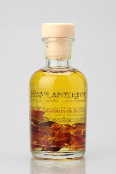 All natural rose & geranium bath oil from Lola's Apothecary. #urbanoutfitters
