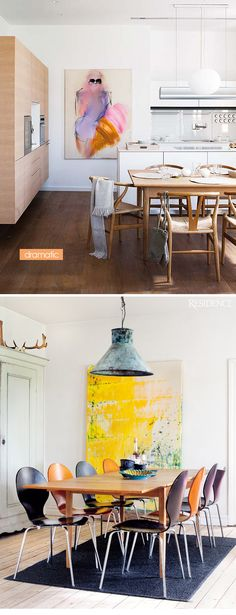 Apartment 34 | Artful Dining: How to Love Your Space More