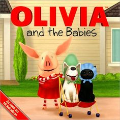 Olivia Olivia and the Babies Book | Ty's Toy Box