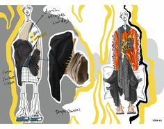 Fashion Illustration Collage, Illustration Mode, Fashion Design Sketchbook, Fashion Sketches, Fashion Books, Fashion Art, Sketchbook Layout, Csm Sketchbook, Fashion Design Portfolio