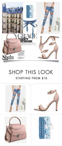 """""""// SHEIN // 1/XIV"""" by nura-akane ❤ liked on Polyvore featuring Charlotte Russe"""