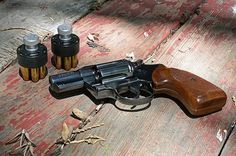 """""""Twenty years before Smith and Wesson gave the world their Chief's Special, Colt pioneered the snub-nosed revolver. A handy six-shooter with a 2-inch barrel, the Colt gun was revolutionary for its day and is still viable nearly a century later. Colt called it the Detective Special."""" I think this will be my next investment. Loading that magazine is a pain! Get your Magazine speedloader today! http://www.amazon.com/shops/raeind"""