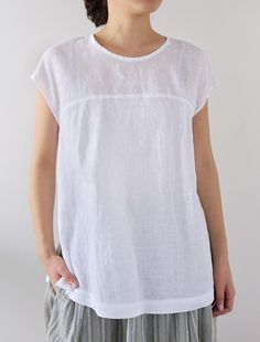 [Envelope Online Shop] Korinna White Lisette tops