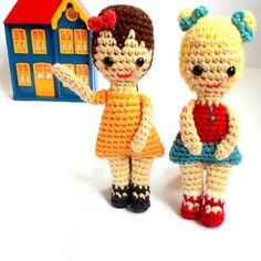 Ravelry: Retro Customizable Doll pattern by A la Sascha